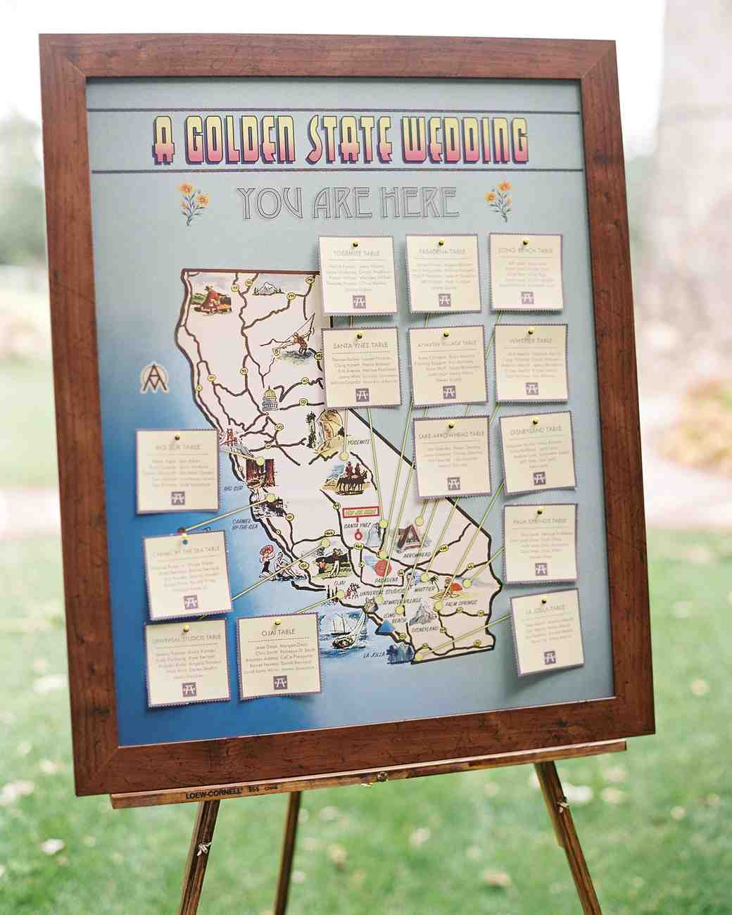 wedding seating map