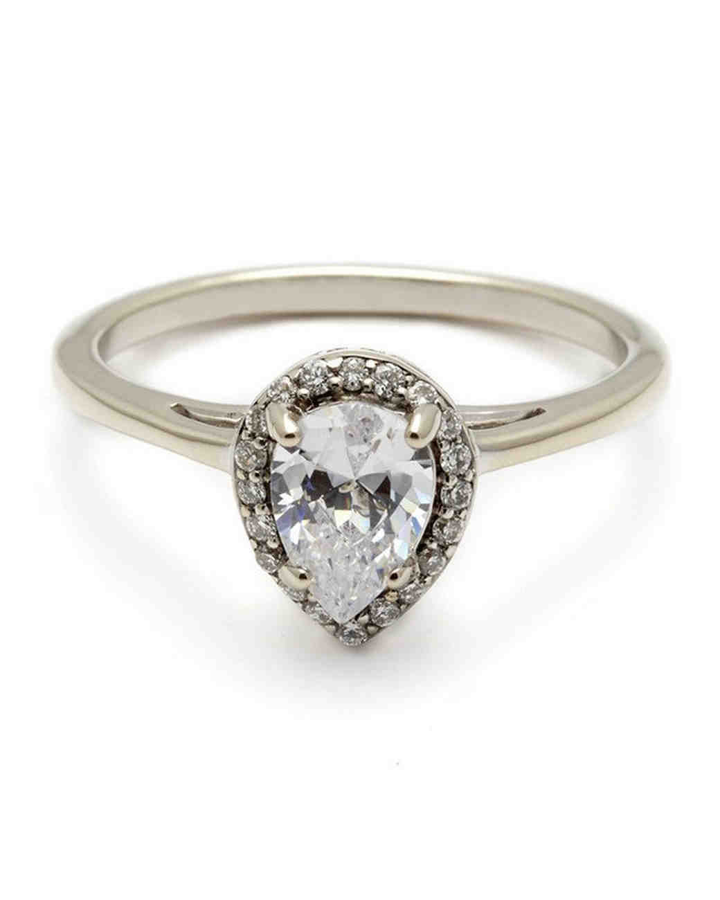 How To Wear A Pear Shaped Diamond Ring