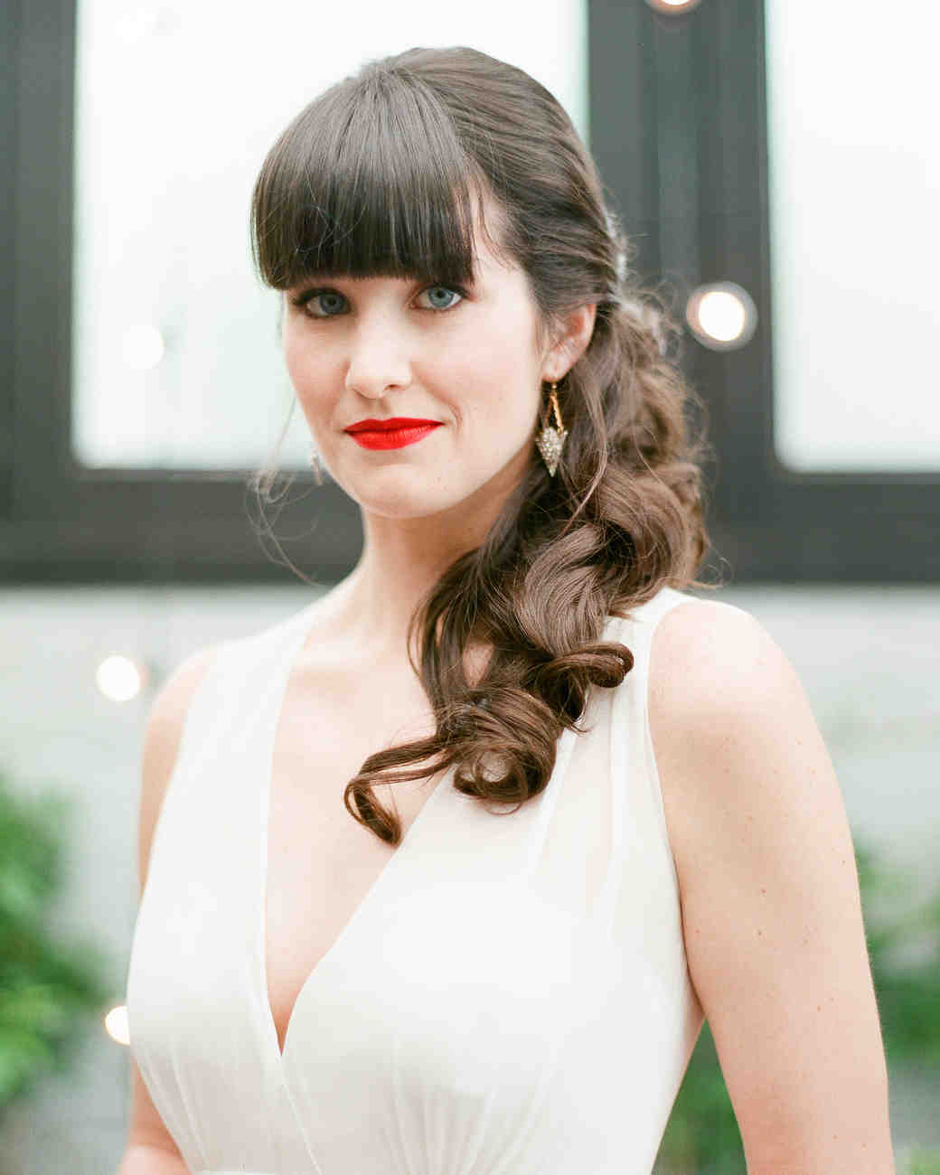 14 pinterest-worthy wedding hairstyles for curly hair | martha