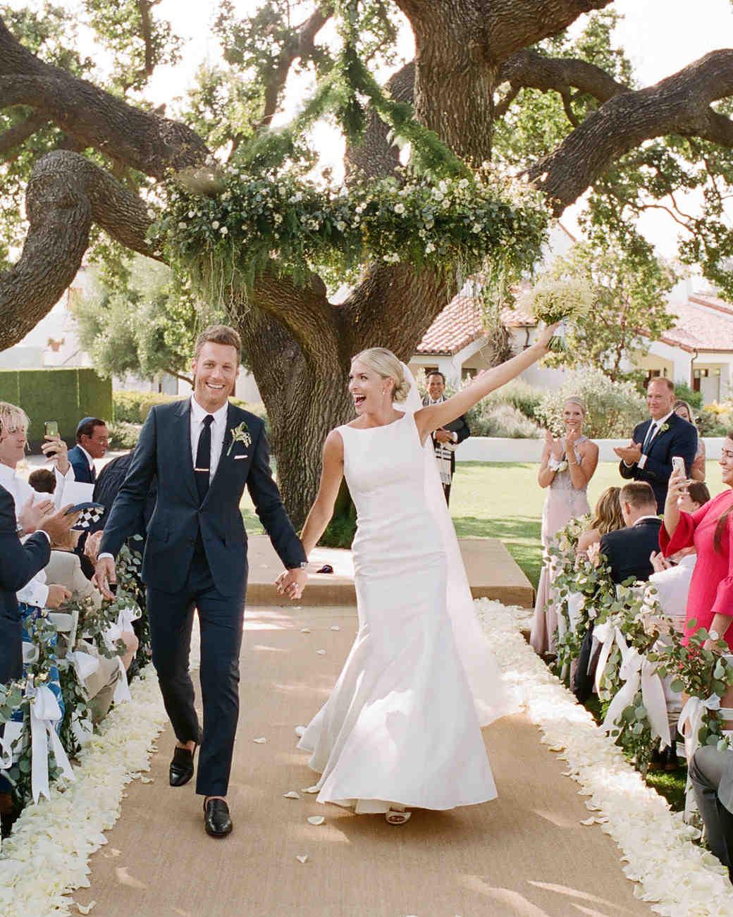 ashlie adam alpert wedding recessional