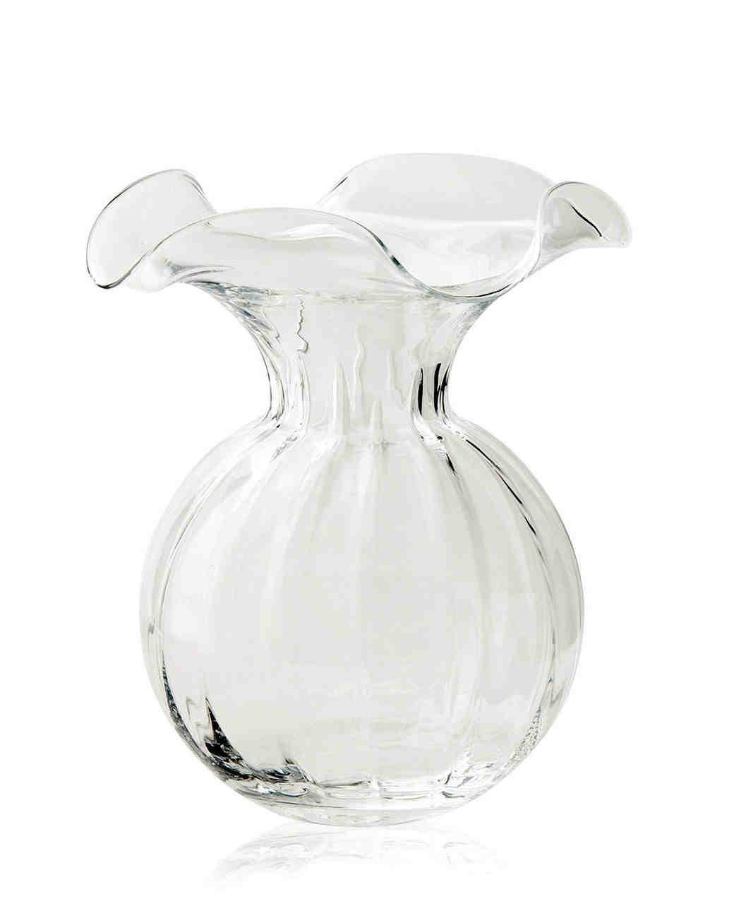 large decorative fluted vase