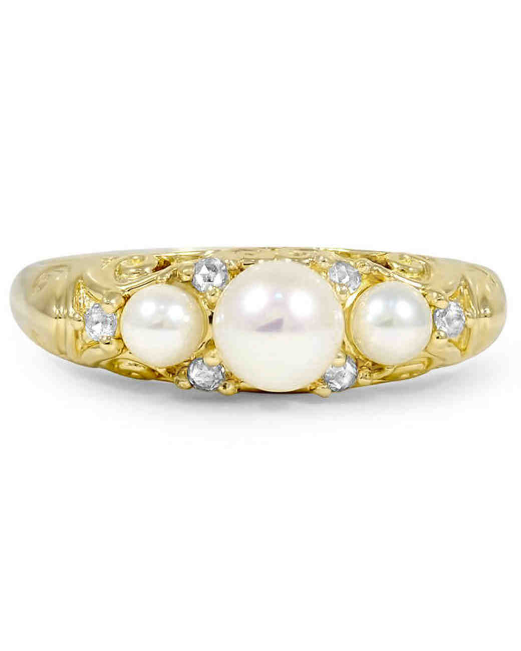 Brilliant Earth Pearl Engagement Ring