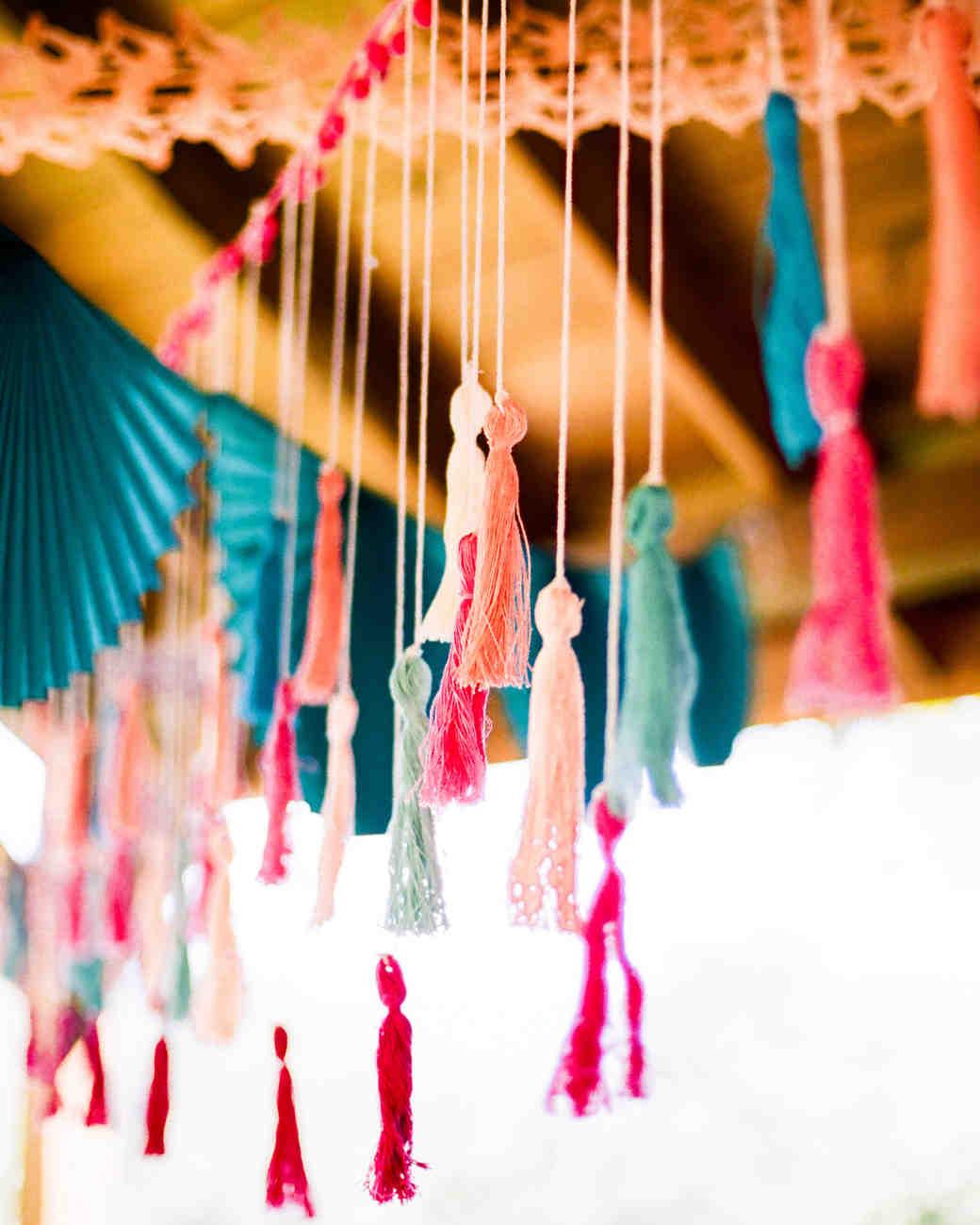 wedding tassels