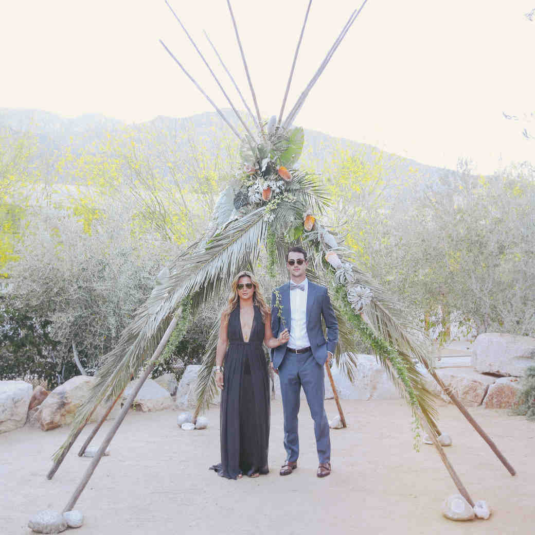 Bohemian Wedding Reception: Martha Stewart Weddings