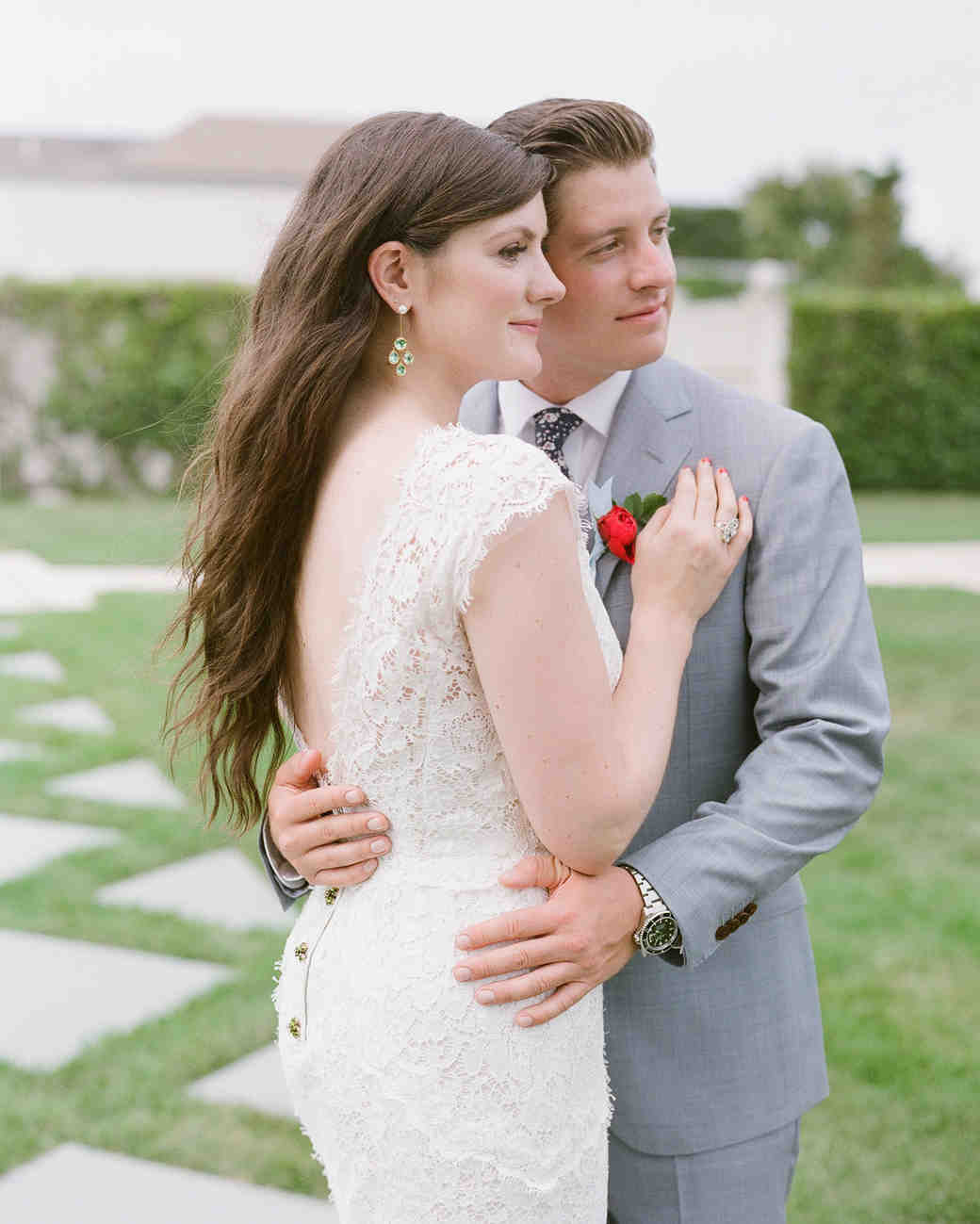 colleen stephen newport wedding couple embracing