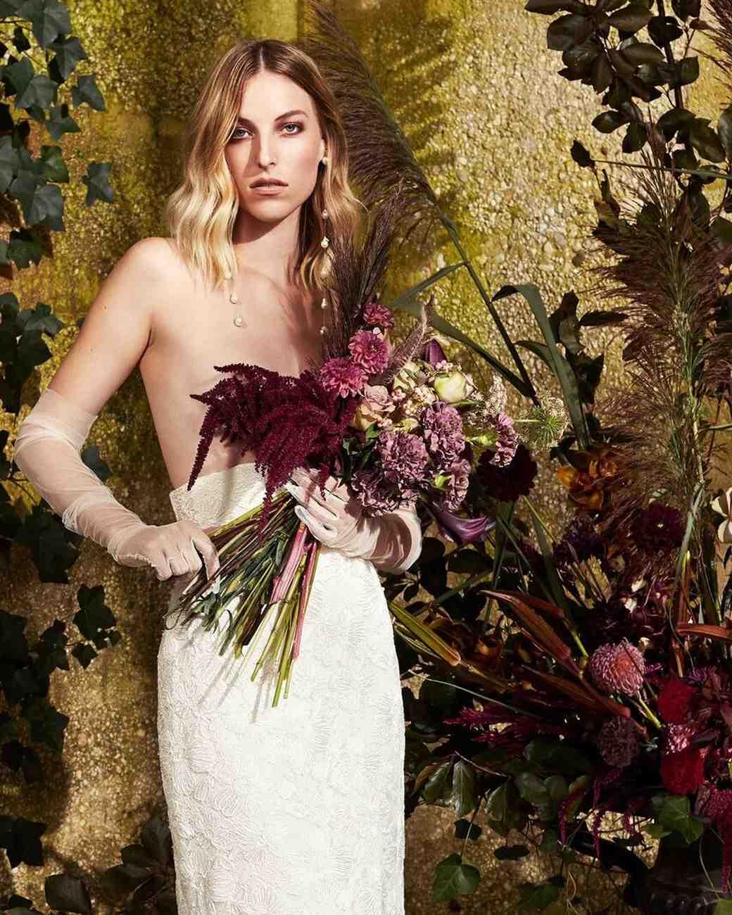 danielle frankel wedding skirt