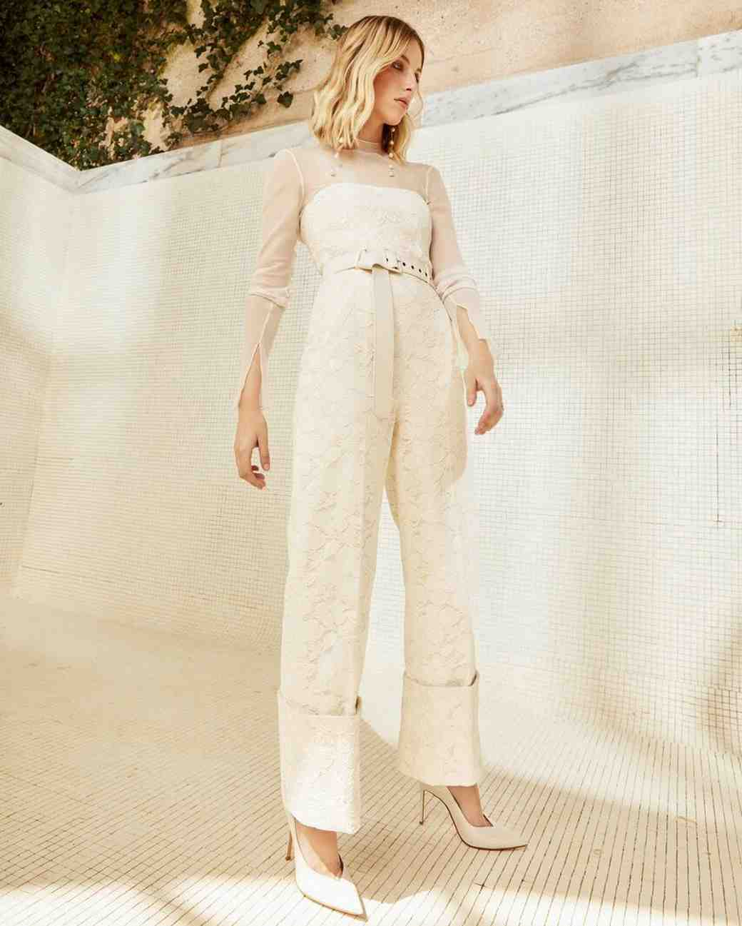 danielle frankel wedding jumpsuit