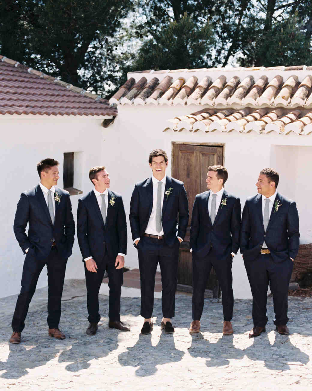 daphne jack wedding spain groomsmen
