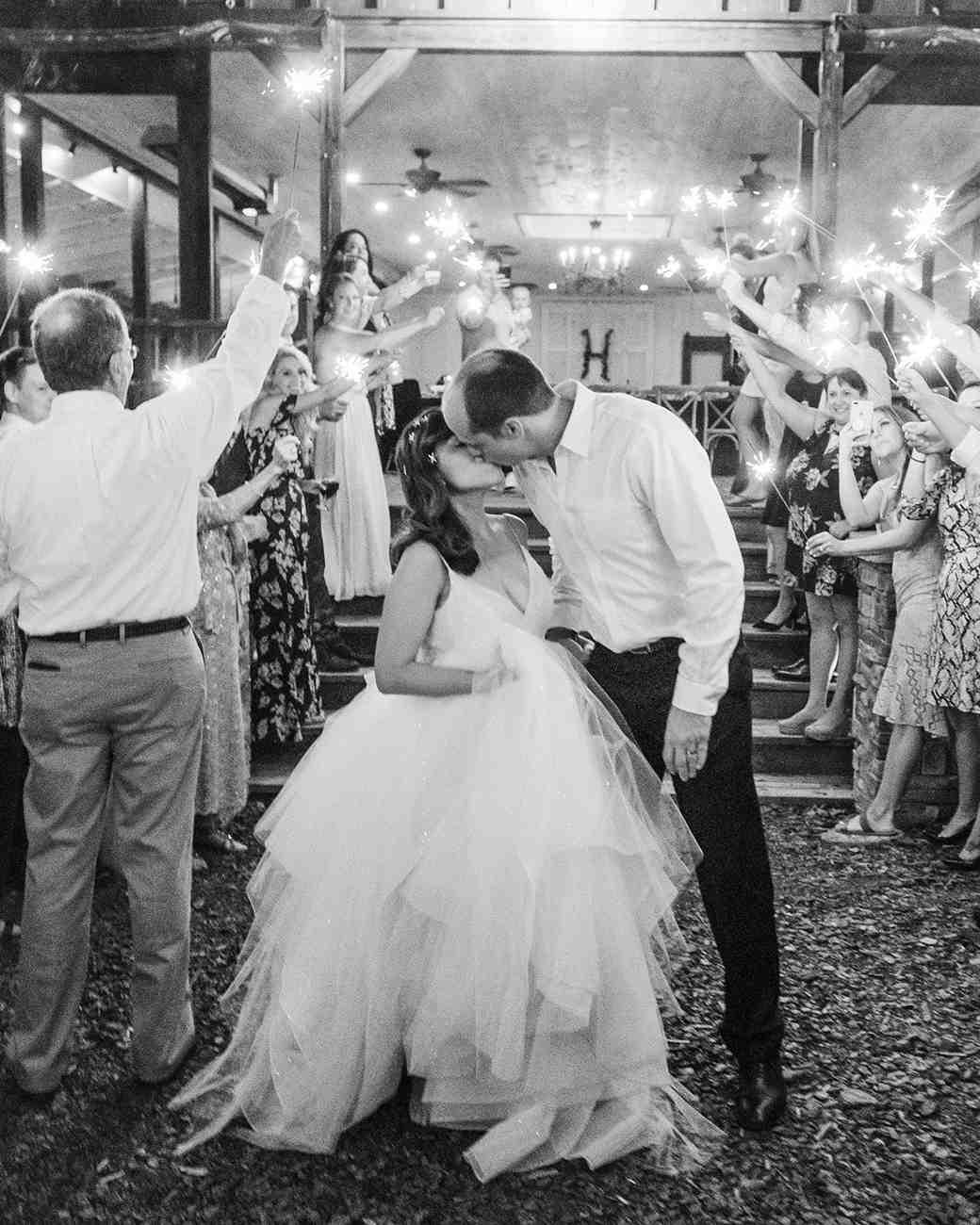 elizabeth jake georgia wedding sparkler send off
