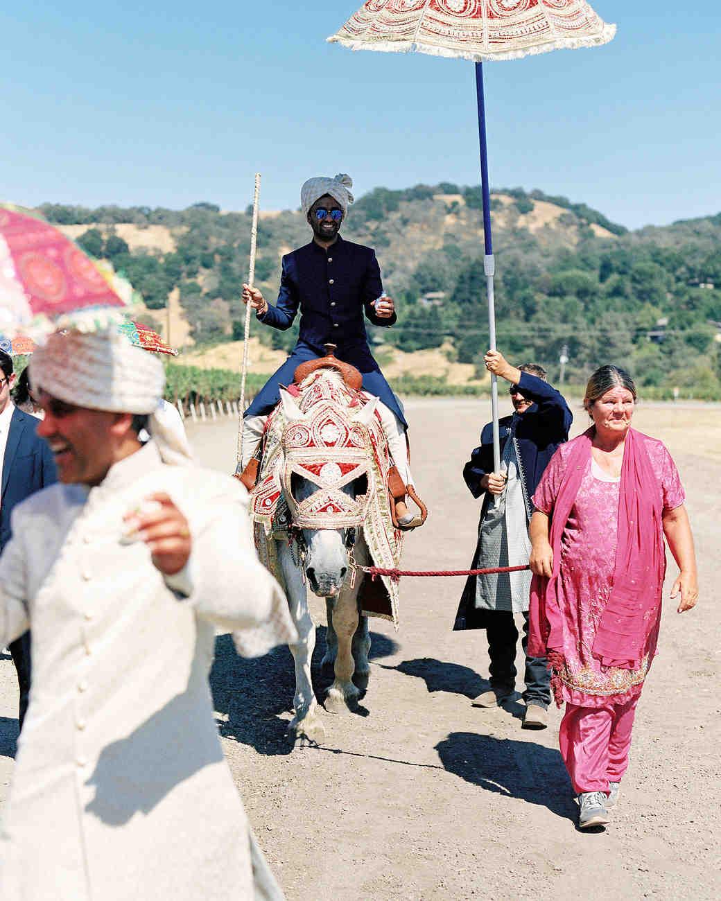 emily siddartha wedding baraat