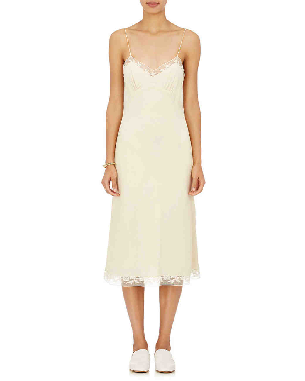 engagement party dresses the row slip dress