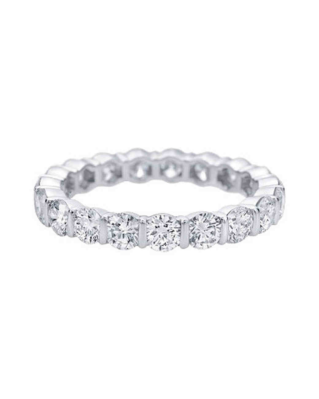 engagement ring settings bar diamonds jewelry