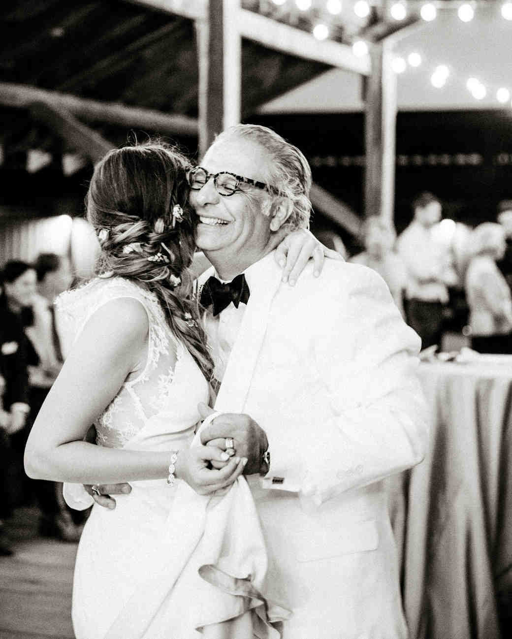 father daughter wedding moment dance