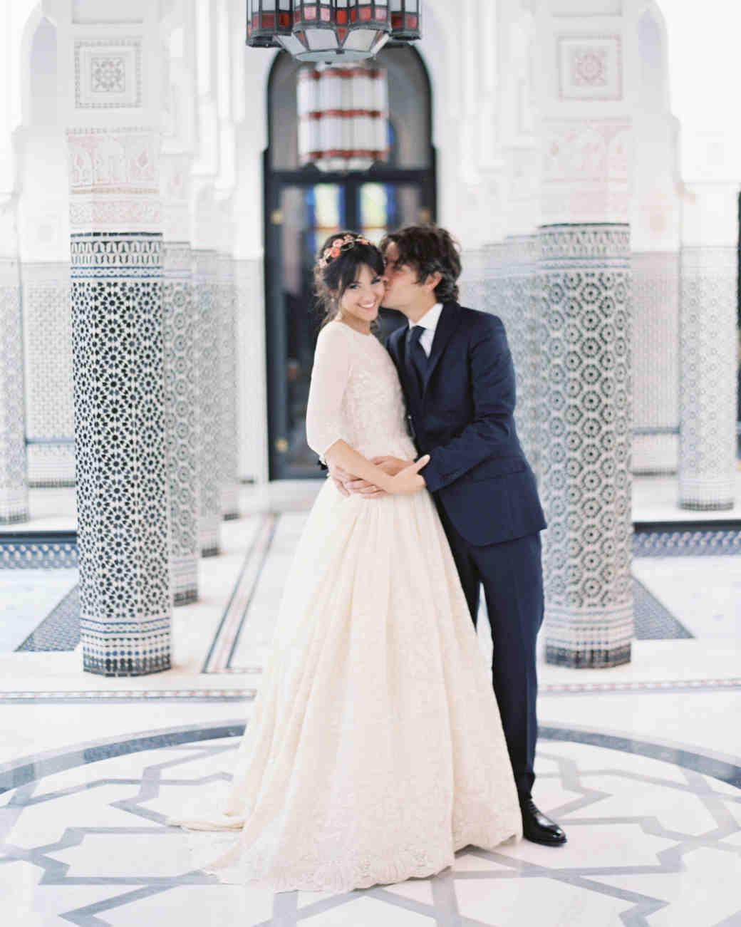 A Colorful Destination Wedding in Marrakech, Morocco   Martha ...