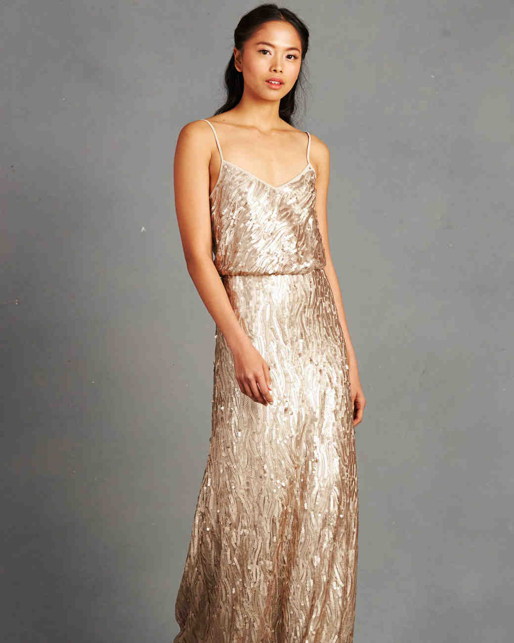 Images of gold bridesmaid dresses
