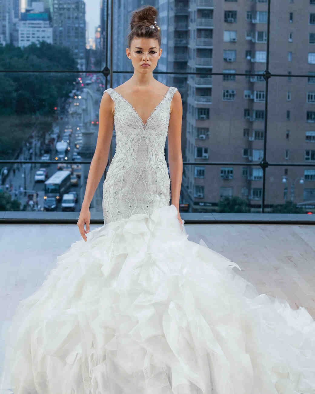 Ines Di Santo Sweetheart Mermaid Wedding Dress Fall 2018