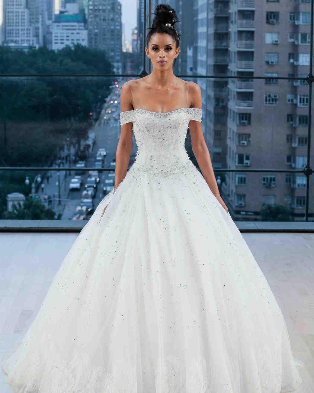 Ines Di Santo Illusion Wedding Dress Fall 2018