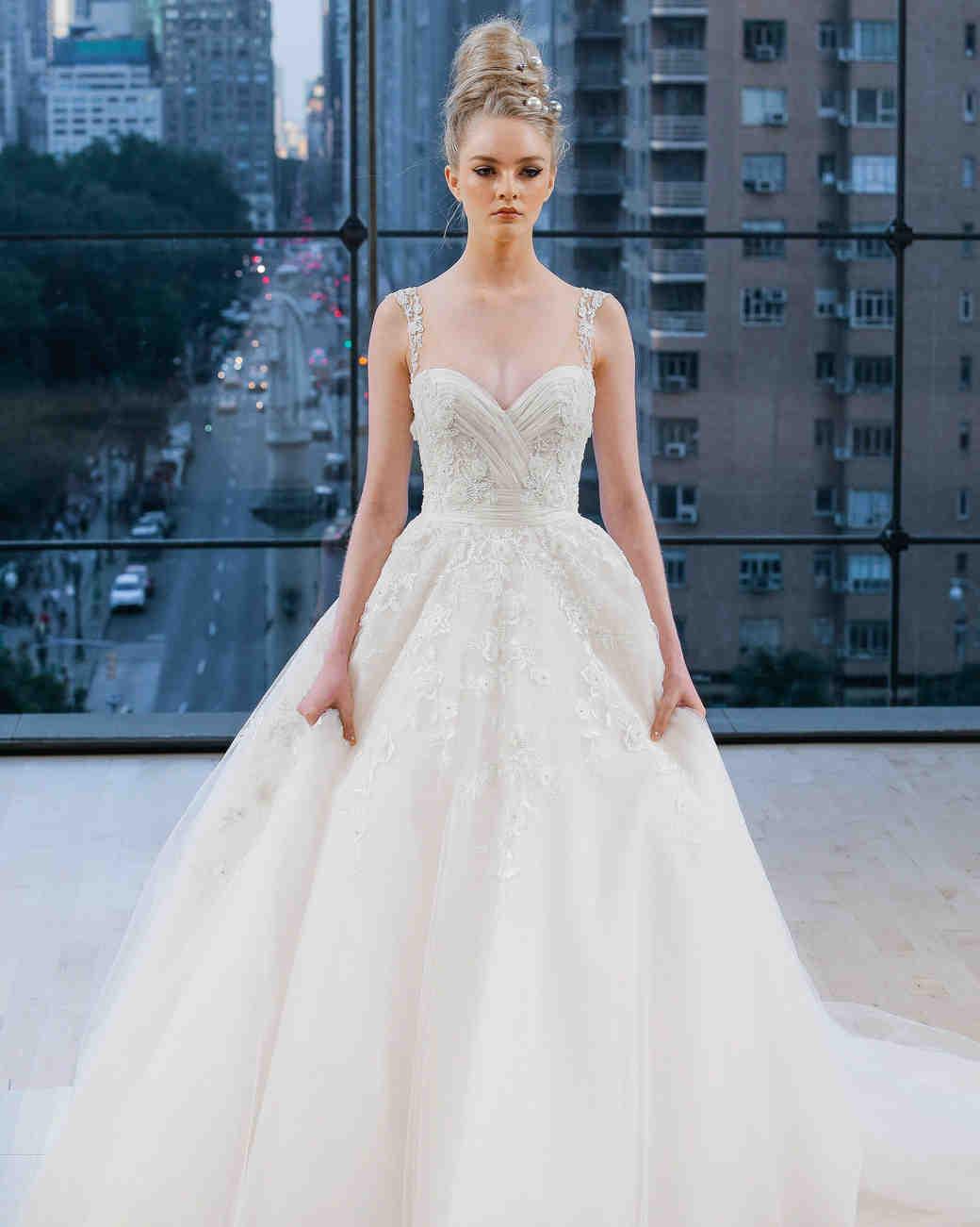 Ines Di Santo Sweetheart Ball Gown Wedding Dress Fall 2018