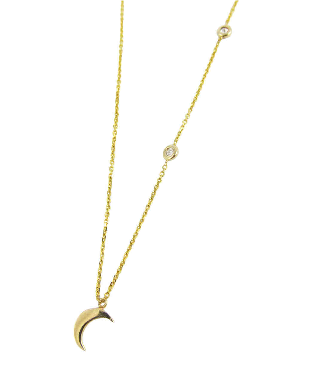 designs moon and stars necklace