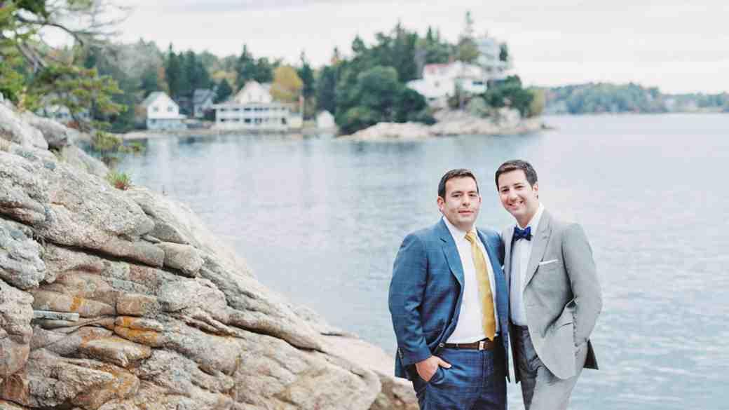 A South-Meets-East Coast Nautical Maine Wedding