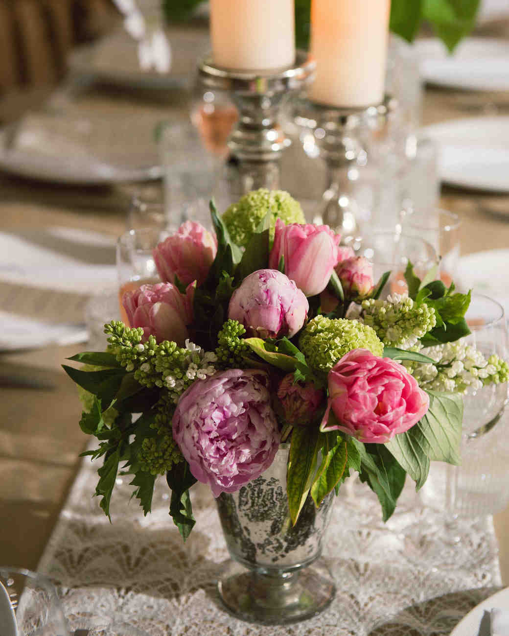 katy andrew wedding centerpiece