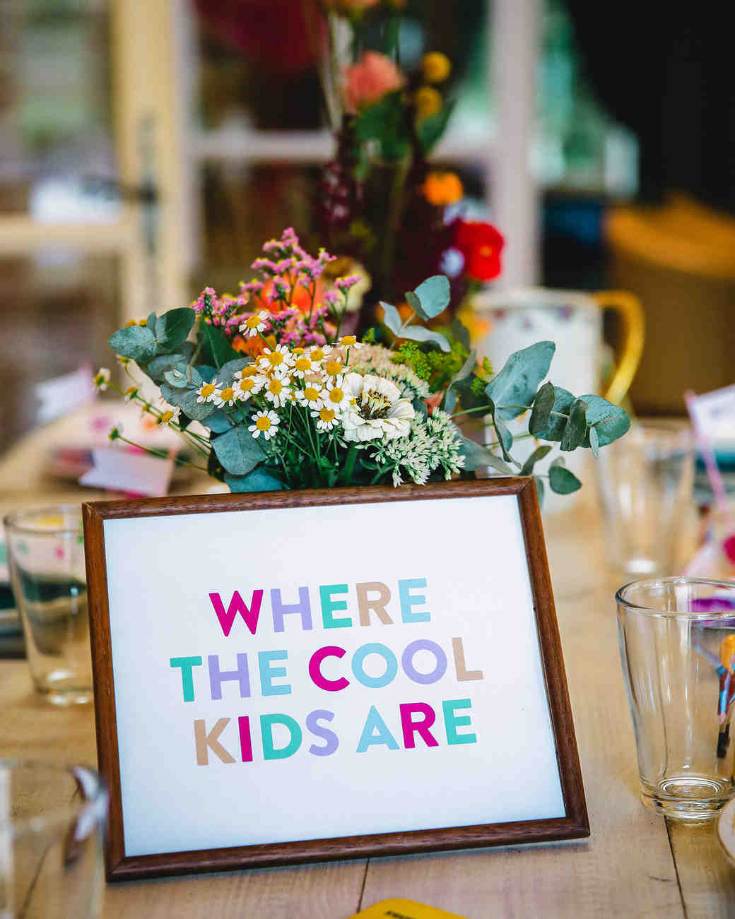 kids entertainment ideas fun colorful sign