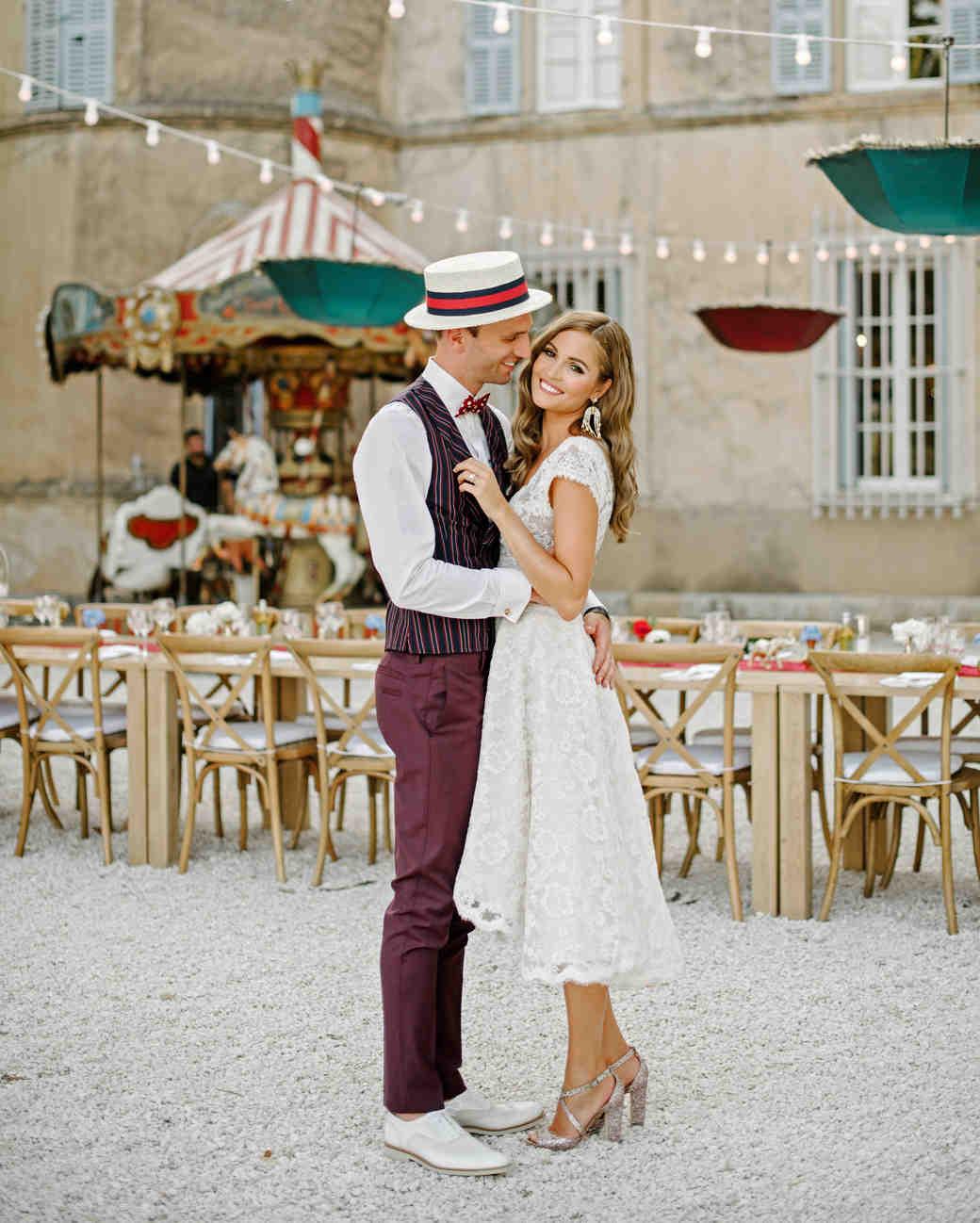 lara kjell circus party couple dance