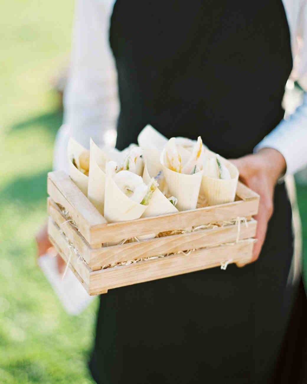 leila joel wedding appetizers