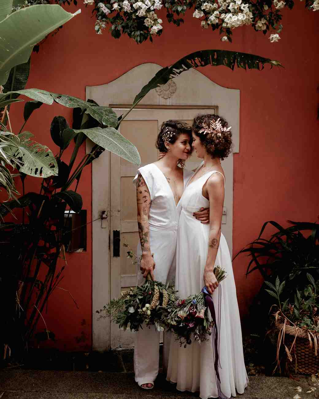 lgbtq bridal inspiration thrall photography
