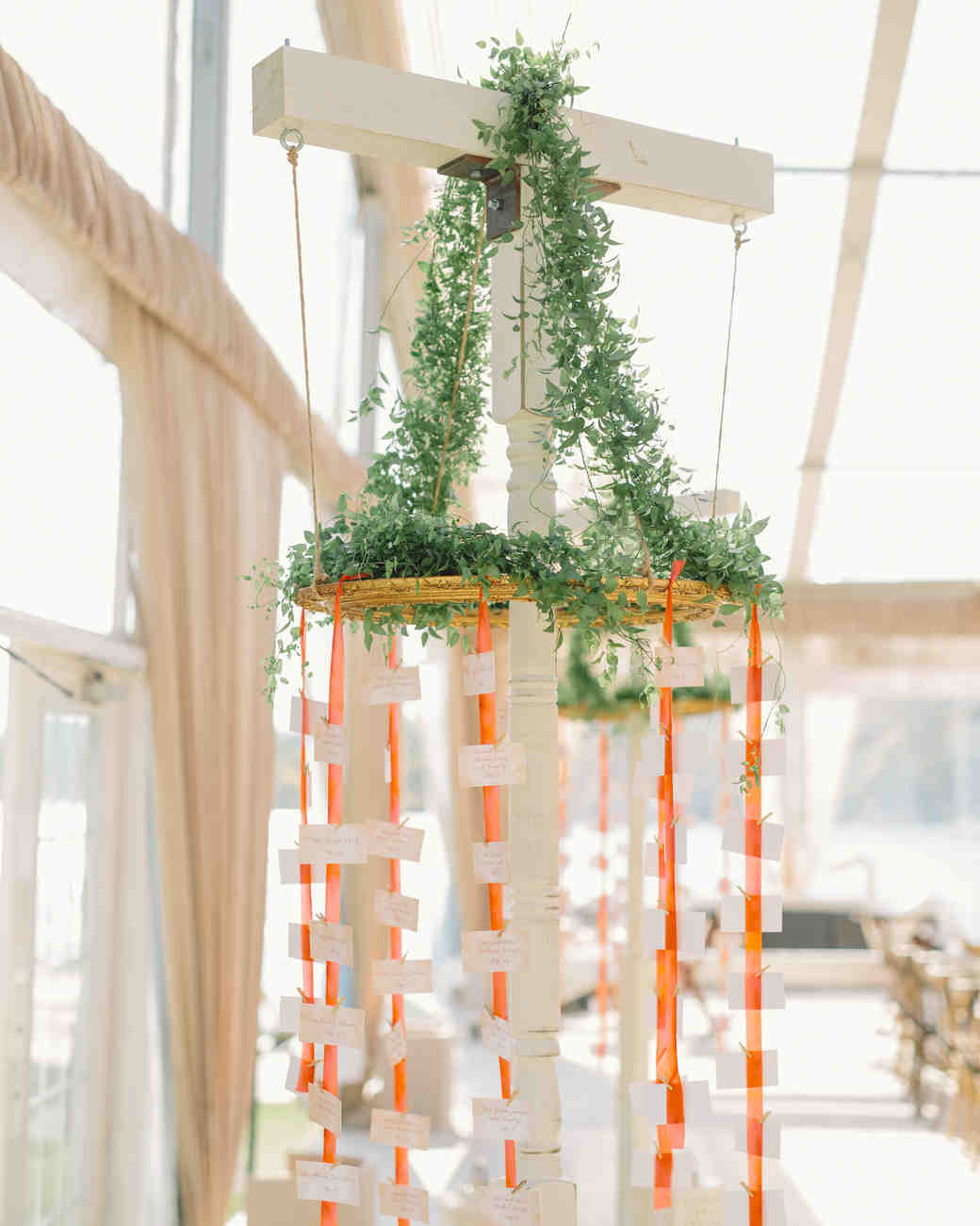 Suspended Escort Cards