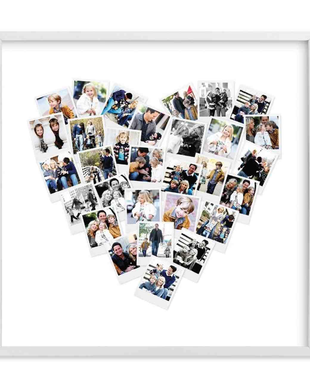 Minted Heart Snapshot Photos
