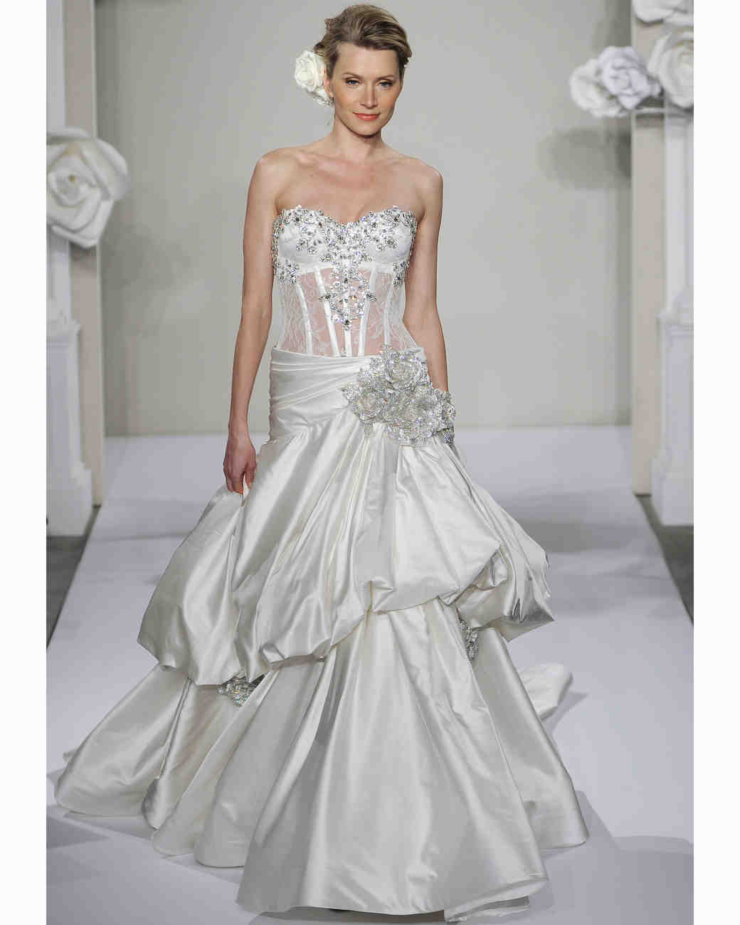 Pnina tornai for kleinfeld fall 2013 collection martha for Kleinfeld wedding dresses sale