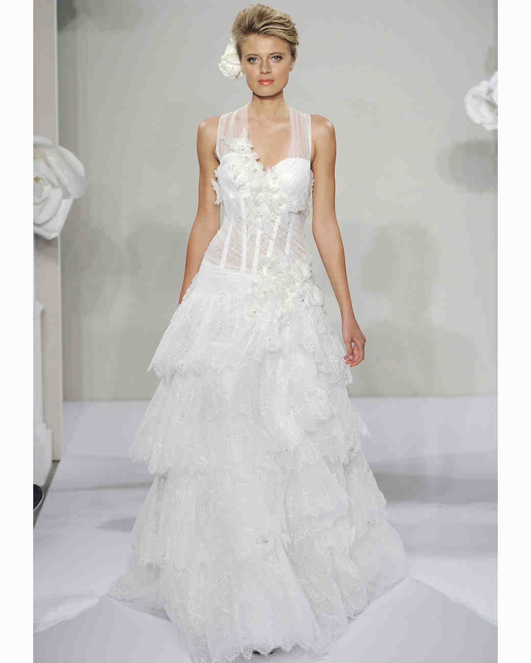 Pnina Tornai for Kleinfeld, Fall 2013 Collection | Martha Stewart ...