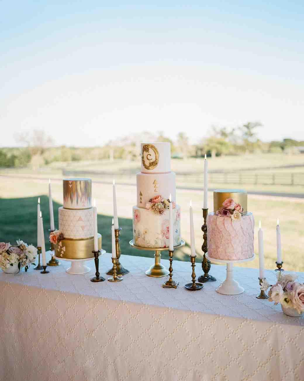 A Luxe Bohemian Wedding in Texas | Martha Stewart Weddings