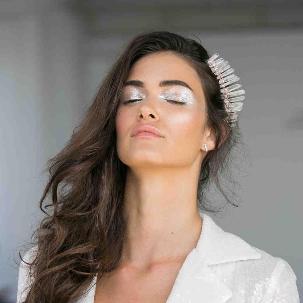 3 Ways to Wear Metallic Makeup on Your Wedding Day