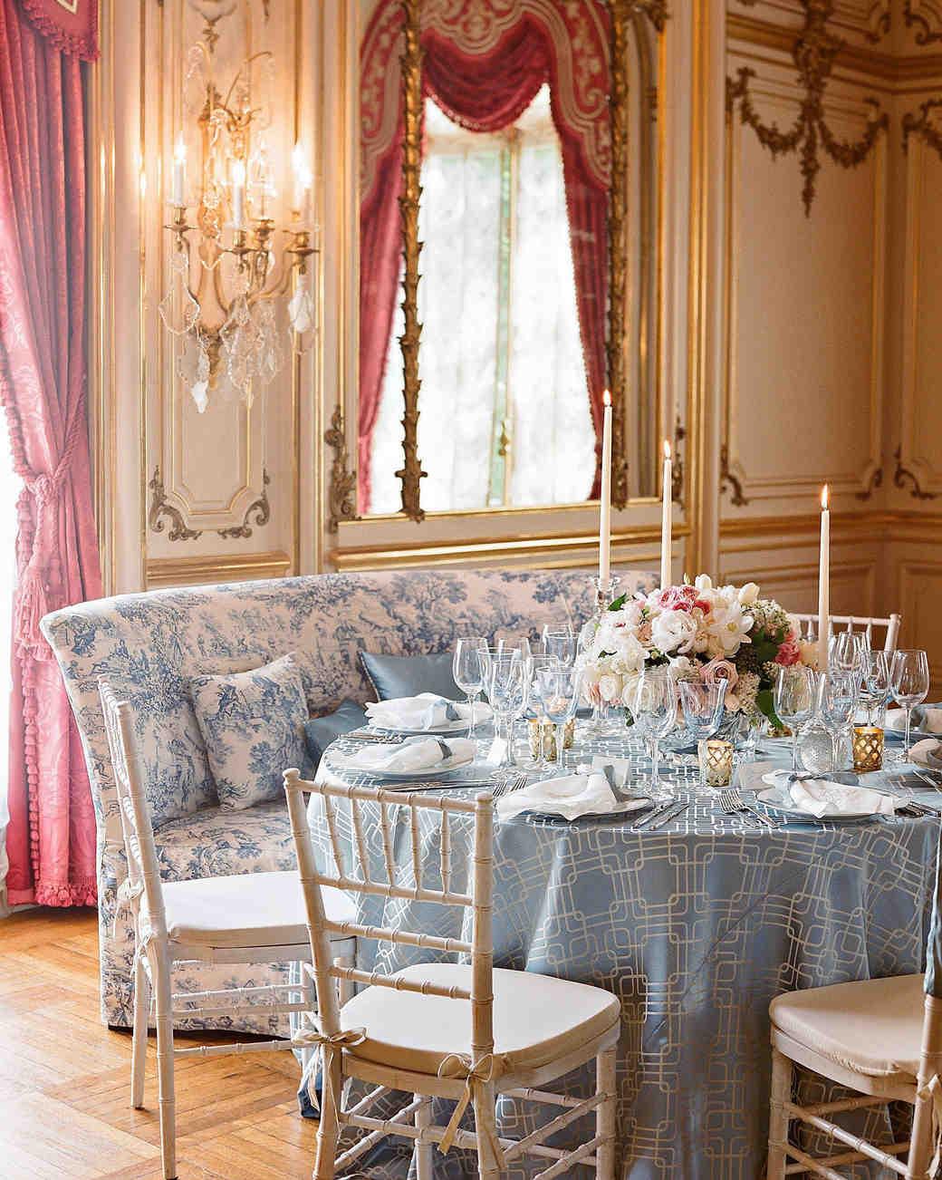 washington dc wedding table reception