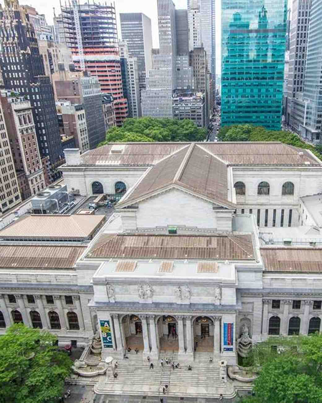 sex and the city wedding venue new york library