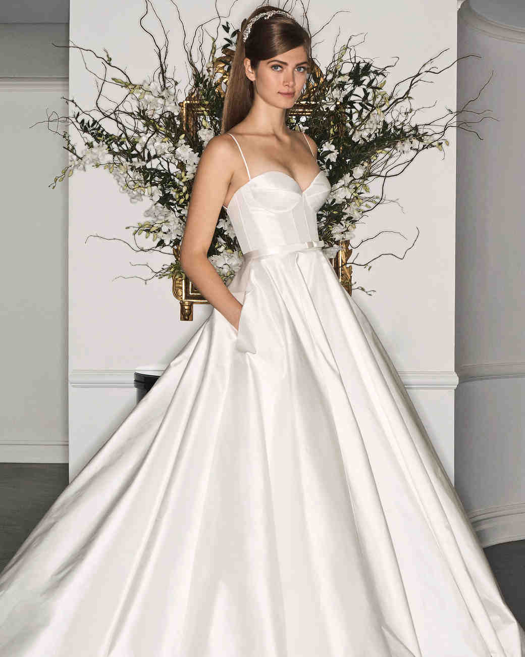 Legends Romona Keveza Bow Wedding Dress