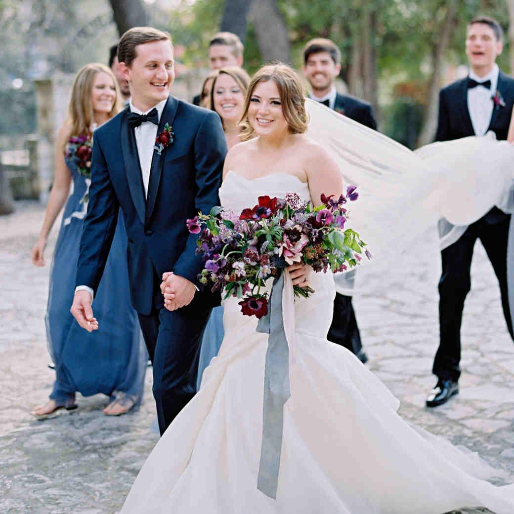 samantha michael wedding couple