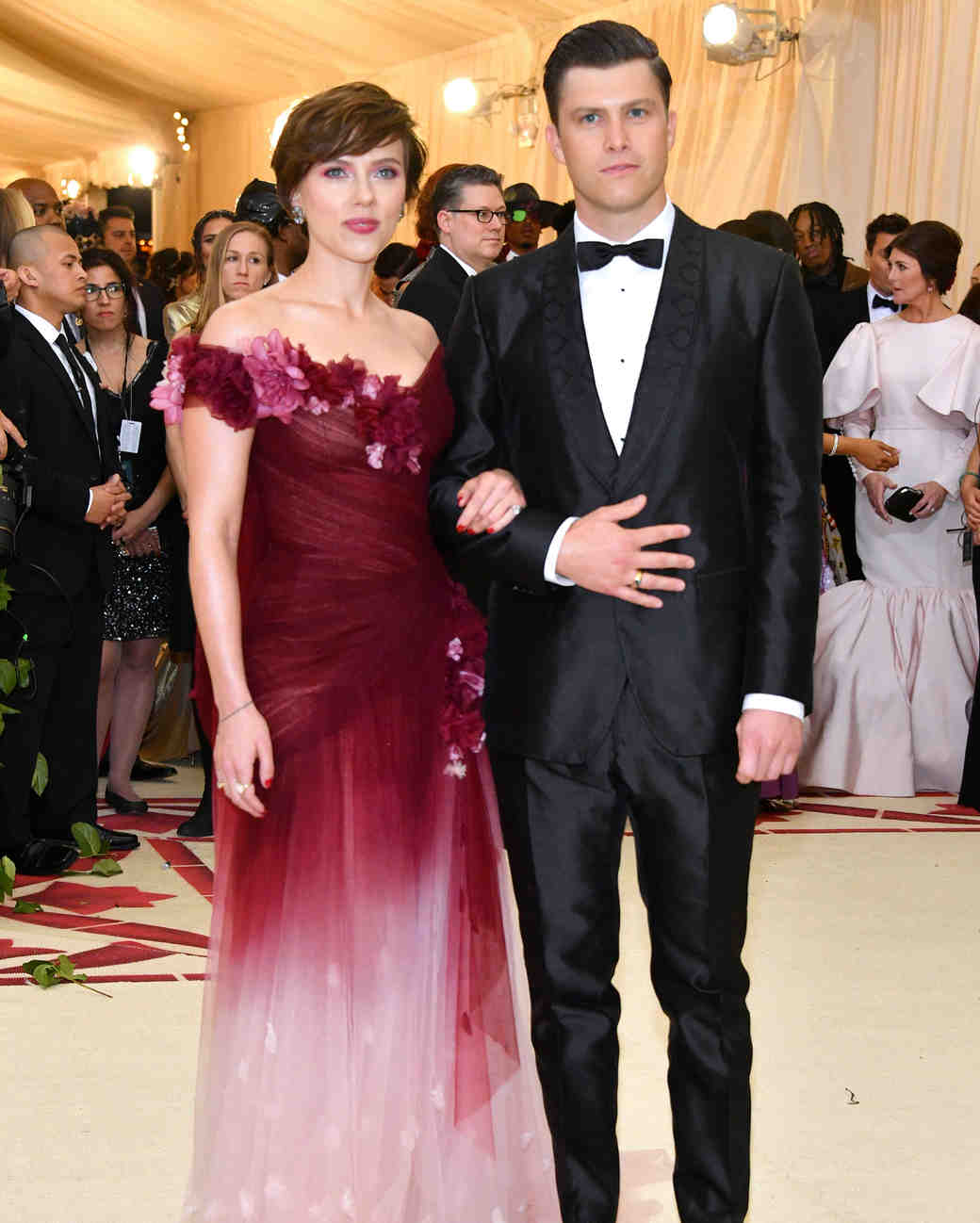 Scarlett Johansson and Colin Jost 2018 Met Gala