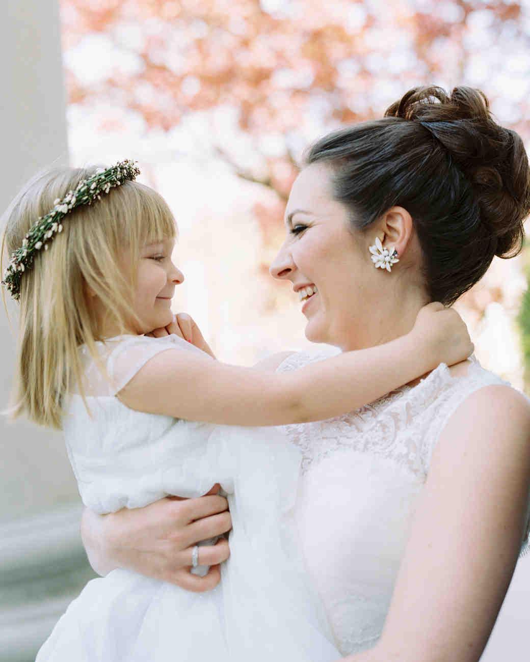 Wedding Flower Girl Rings
