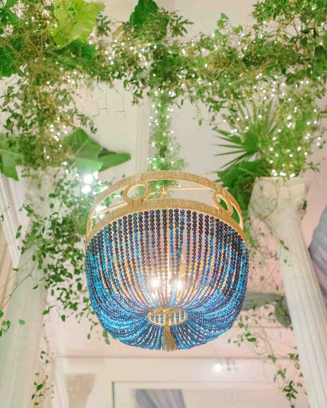 stefanie drew wedding chandelier