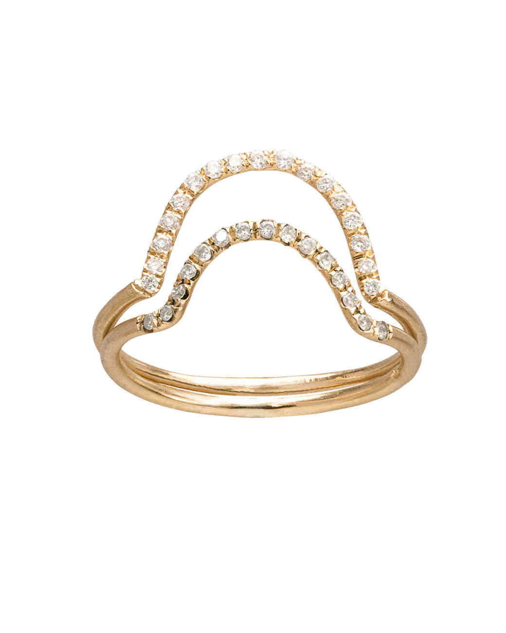 Stacked Engagement Rings Youll Love Martha Stewart Weddings