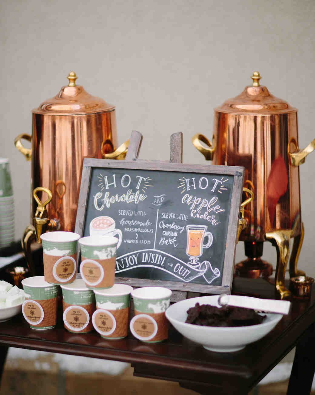 hot drink station
