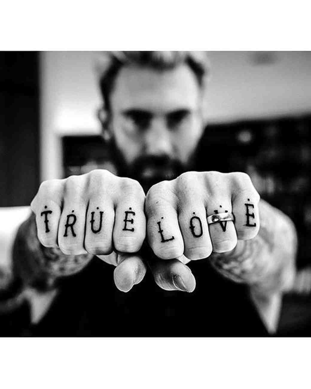 "Adam Levine's ""TRUE LOVE"" Tattoo"