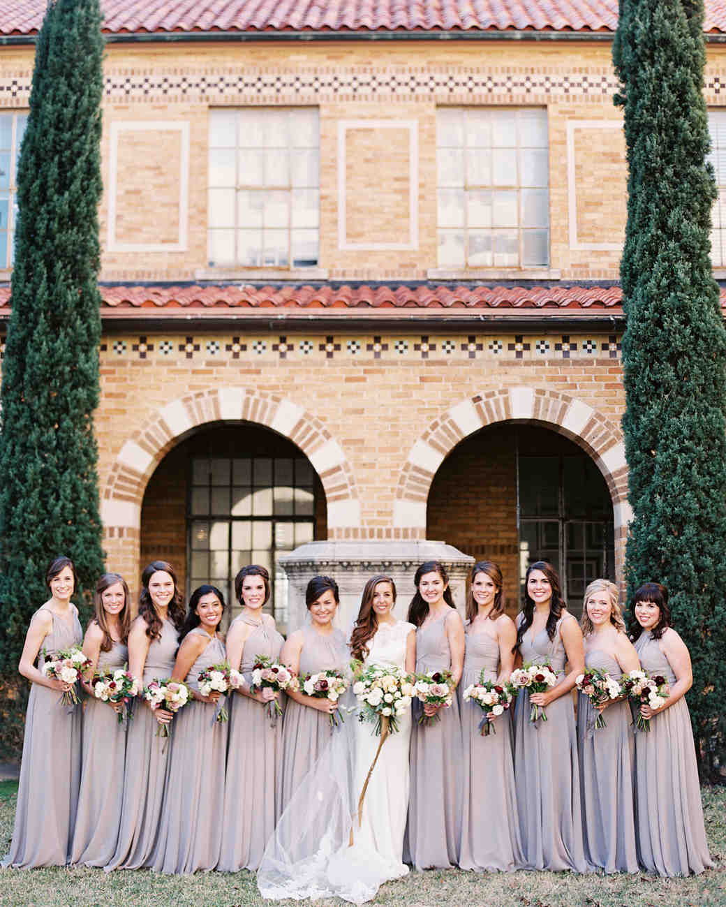 afton travers wedding bridesmaids