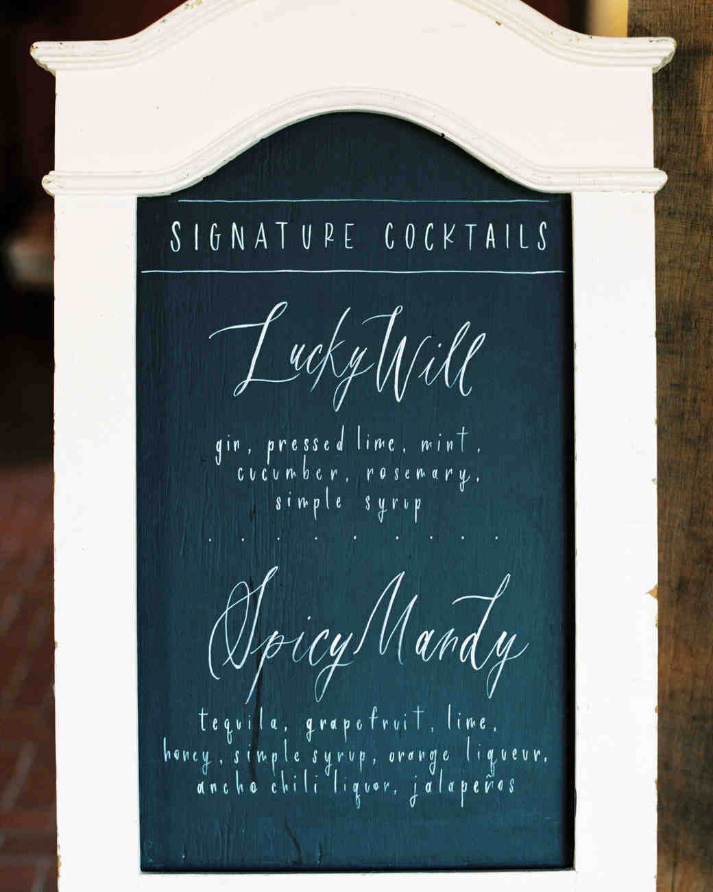 amanda william wedding tennessee signage