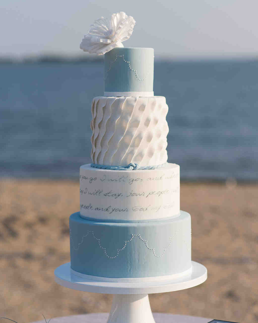 Beach Wedding Shower Cake Inspiration