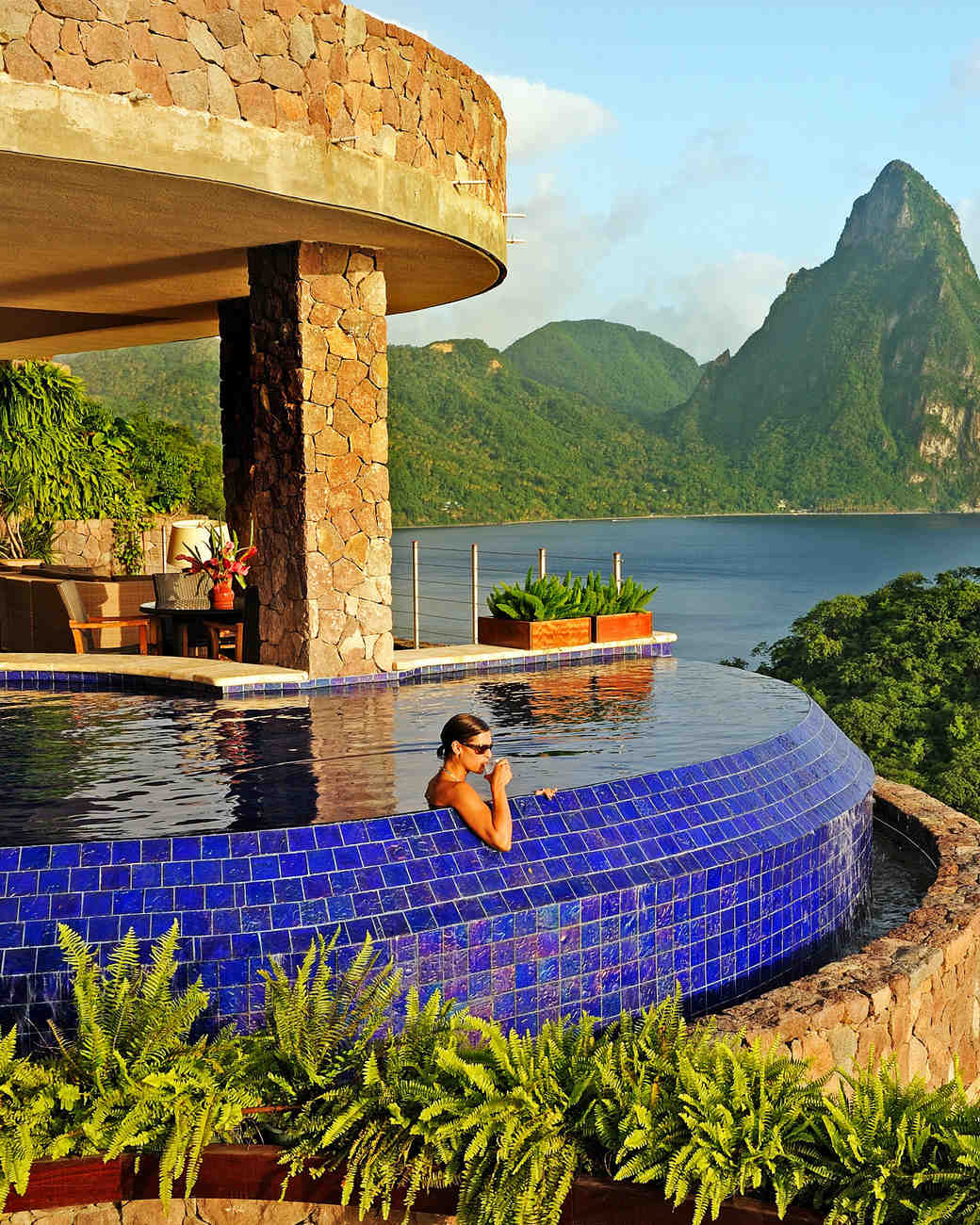 best beach honeymoons jade mountain st lucia
