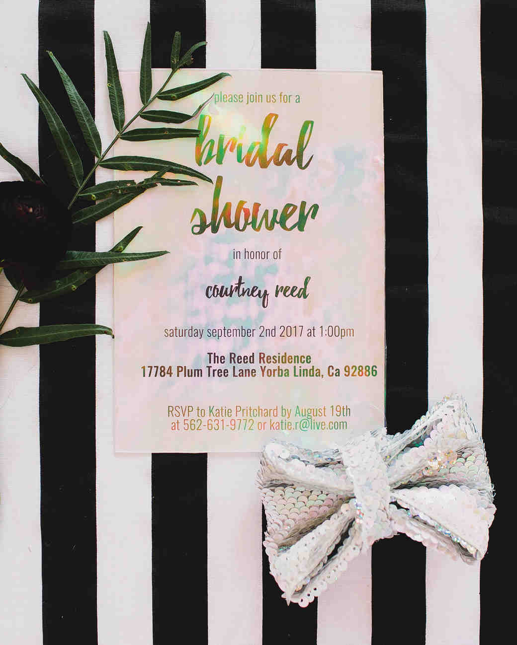 bridal shower invitations katie pritchard